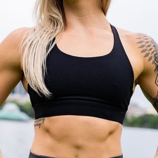 Born Primitive Max Effort Sports Bra (Black)