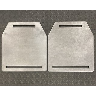 Endurance Apparel & Gear Weight Vest Plates - Raw