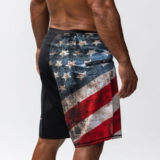 Born Primitive Defender Shorts 2.0 Patriot Edition