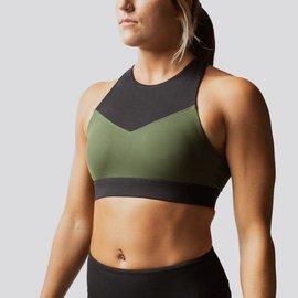 Born Primitive Movement Sports Bra (Tactical Green/Black)