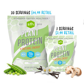 SFH SFH PLANT PROTEIN - VANILLA **3 SERVING BAG**