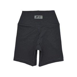 Fleo Fleo Black Biker Shorts