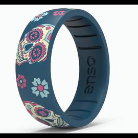 ENSO Enso Exclusive Silicone Ring - Sugar Skull