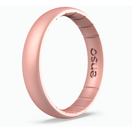 ENSO Elements Thin Rose Gold Ring