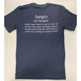Endurance Apparel & Gear Always Hangry Tee - Heather Navy