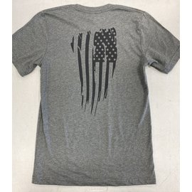 Endurance Apparel & Gear Freedom Flag Tee - Deep Heather