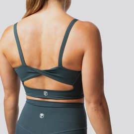 Born Primitive Your Go To Sports Bra - Deep Teal