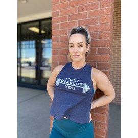 Endurance Apparel & Gear Deadlift YOU Rcrbck Heather Navy