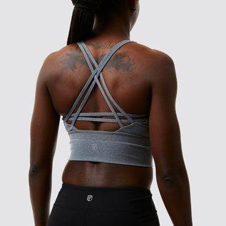 Born Primitive CrossFire Sports Bra - Vintage Grey