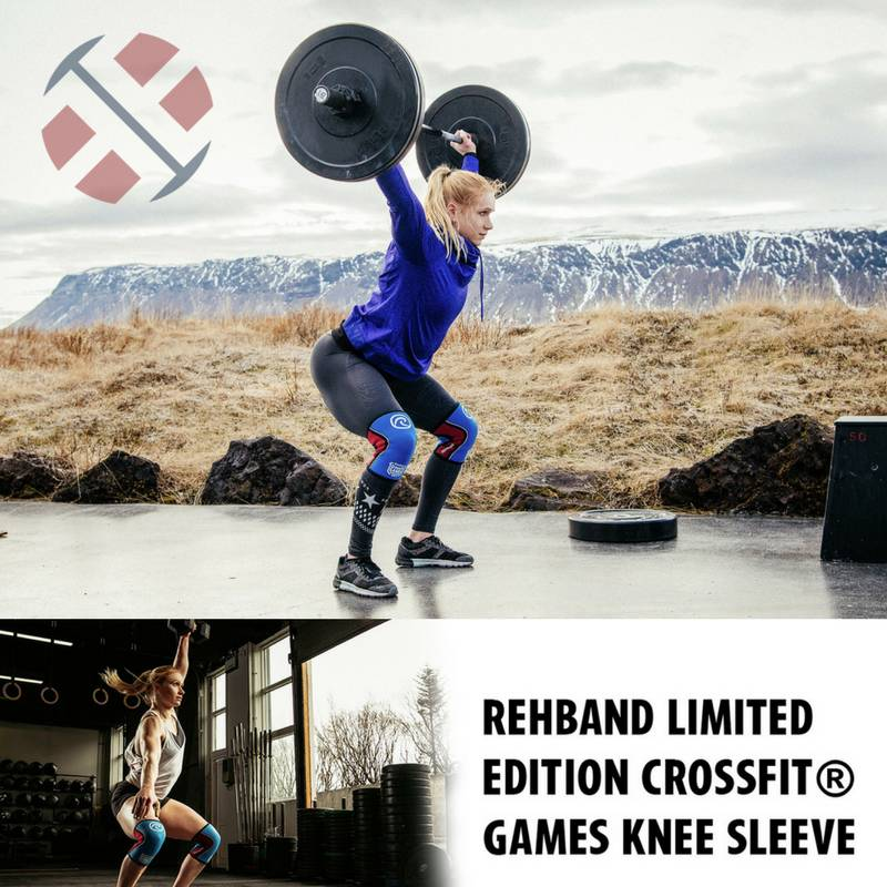 THE CROSSFIT® GAMES Limited Edition Rehband KNEE SLEEVES - AVAILABLE NOW