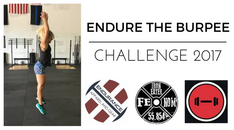 Endure the Burpee Challenge 2017