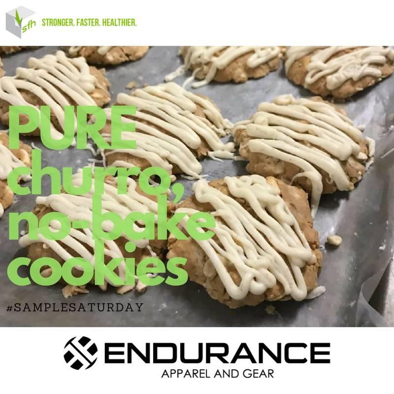sfh No-Bake Cinnamon Roll Protein Cookie