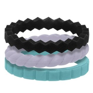 Qalo Qalo Womens Stackable - 3 Styles