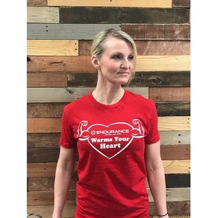 Endurance Apparel & Gear Donation Warms Your Heart Tee Shirt