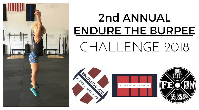 2nd Annual Endur the Burpee Challenge 2018