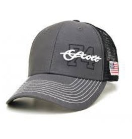 SCOTT FLY ROD COMPANY SCOTT FLY RODS 74 HAT DARK GRAY/BLACK - ON SALE
