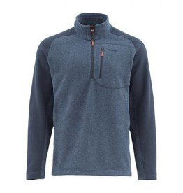 SIMMS SIMMS RIVERSHED SWEATER QUARTER ZIP
