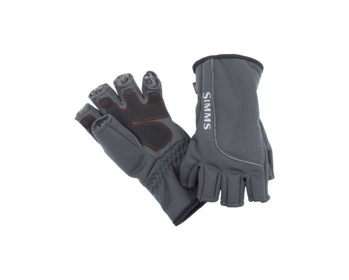 SIMMS SIMMS GUIDE WINDBLOC HALF FINGER MITT - ON SALE !!