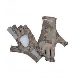 SIMMS SIMMS SOLARFLEX SUNGLOVE TONGASS CAMO - ON SALE 35% OFF