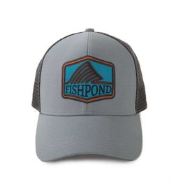 FISHPOND FISHPOND DORSAL FIN HAT - LIGHT SLATE/CHARCOAL