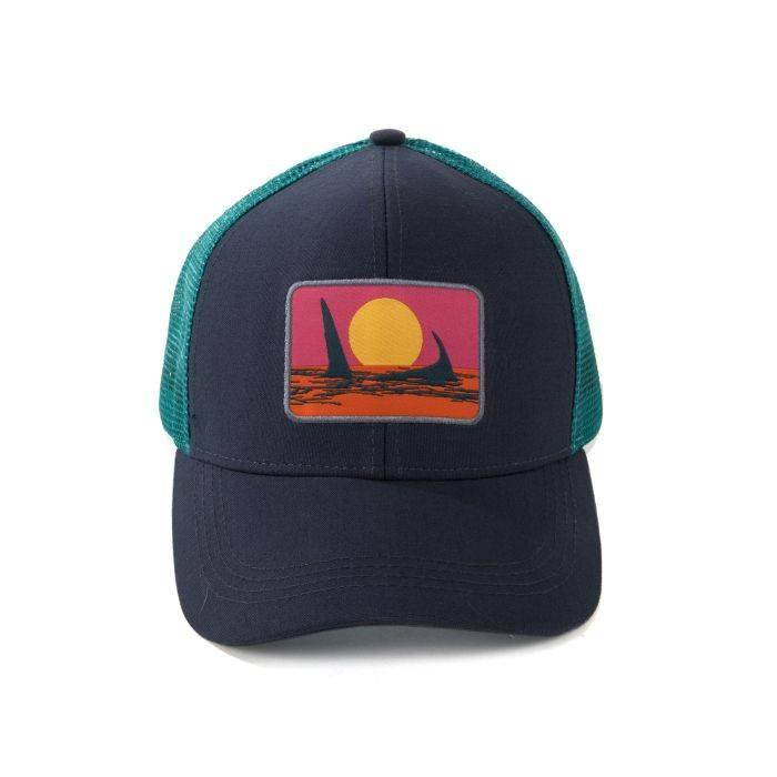 FISHPOND FISHPOND ENDLESS PERMIT HAT - DEEPWATER/FLATS BLUE - ON SALE!!