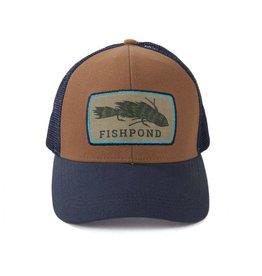 FISHPOND FISHPOND MEATHEAD HAT - SANDBAR/DEEPWATER