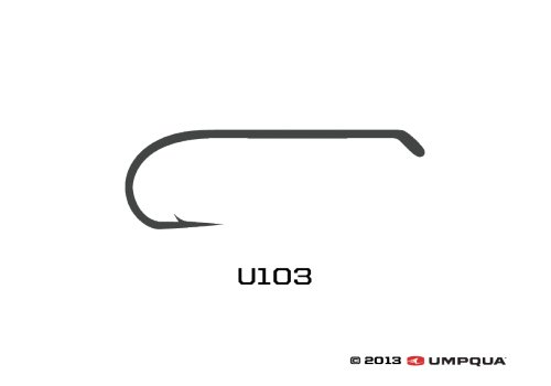 UMPQUA Umpqua U Series U103 Hook - 50 Pack