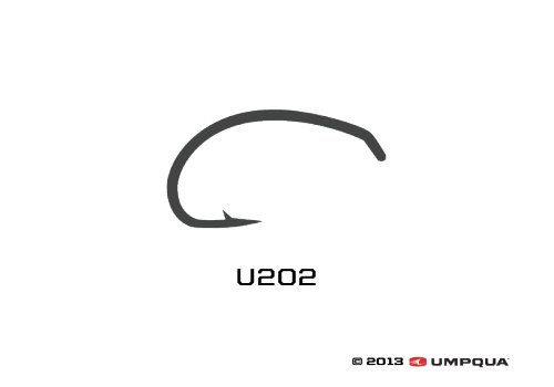 UMPQUA UMPQUA U SERIES U202 HOOK - 50 PACK