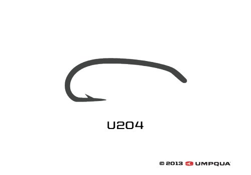 UMPQUA Umpqua U Series U204 Hook - 50 Pack