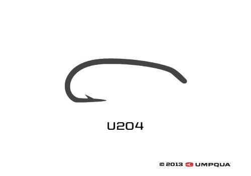 UMPQUA UMPQUA U SERIES U204 HOOK - 50 PACK