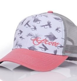 SCOTT FLY ROD COMPANY SCOTT WOMEN'S FLIES TRUCKER HAT