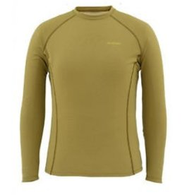 SIMMS SIMMS WADERWICK CORE CREW NECK - ARMY GREEN - ON SALE!!