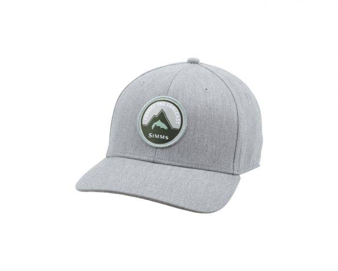 SIMMS SIMMS FORGET THE FORCAST CAP - HEATHER GREY