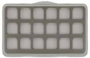 WAPSI Anglers Image Large Ultra Thin 18 Compartment Mag Base Fly Box