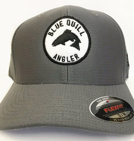 BLUE QUILL ANGLER BQA ICON PERFORMANCE CAP - GREY