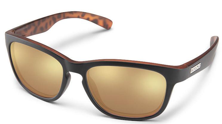 Suncloud Cinco - Matte Black Havana Backpaint/Polar Sienna Mirror