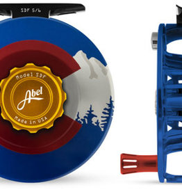 ABEL REELS ABEL SDF 5/6 - SOLID - CO EDITION WITH RED HANDLE
