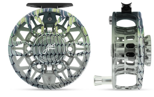 ABEL REELS Abel Sds 7/8 - Ported - Bonefish Finish With Platinum Handle