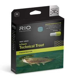 RIO PRODUCTS RIO TECHNICAL TROUT IN-TOUCH WEIGHT FORWARD FLY LINE