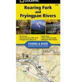 NATIONAL GEOGRAPHIC NATIONAL GEOGRAPHIC RIVER MAP - ROARING FORK AND FRYING PAN RIVERS 2305