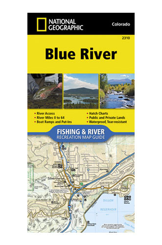 NATIONAL GEOGRAPHIC National Geographic River Map - Blue River 2310