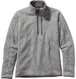 PATAGONIA Patagonia Mens Better Sweater 1/4 Zip - On Sale!! Stonewash S