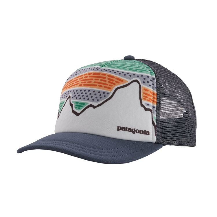 PATAGONIA PATAGONIA WOMENS SOLAR RAYS '73 INTERSTATE HAT - DOLOMITE BLUE