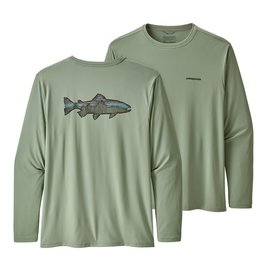 PATAGONIA Patagonia Mens Ls Capilene Cool Daily Fish Graphic Shirt