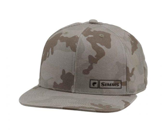 SIMMS Simms Bass Logo Lockup Cap - Pico Camo Mineral