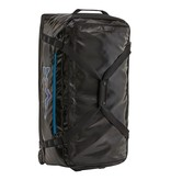 PATAGONIA PATAGONIA BLACK HOLE WHEELED DUFFEL 100L - BLACK WITH FITZ ROY TROUT