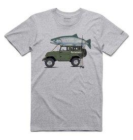 SIMMS Simms Trout Cruiser T-Shirt - Grey Heather