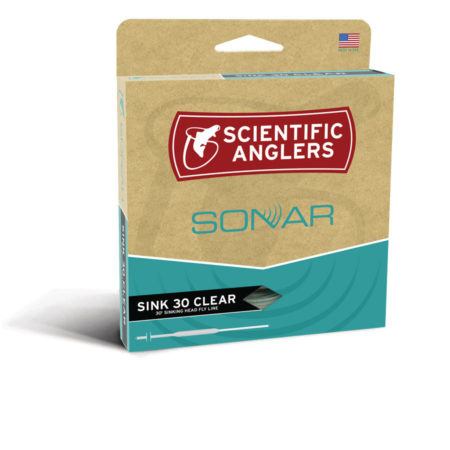 SCIENTIFIC ANGLERS Scientific Anglers Sonar Sink 30 Clear