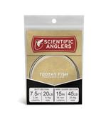 SCIENTIFIC ANGLERS Scientific Anglers Premium Toothy Fish Leader - 7.5 Foot