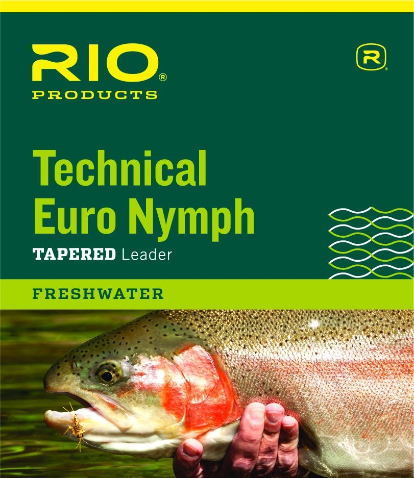 RIO PRODUCTS Rio Technical Euro Nymph Leader - 14Ft